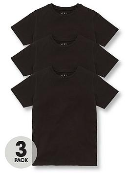 V by Very V By Very Unisex 3 Pack Sports School Tees Picture