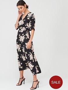 warehouse-sia-floral-printed-midi-dress