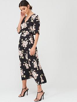 Warehouse Warehouse Sia Floral Printed Midi Dress Picture