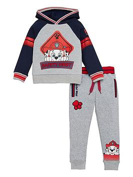 Paw Patrol Paw Patrol Boys Safety First Marshall Tracksuit - Grey Picture