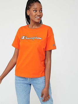 Champion Champion Crewneck T-Shirt - Red Picture