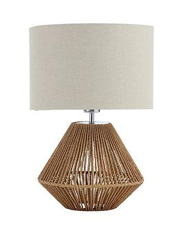 Very Tampa Natural Table Lamp Picture