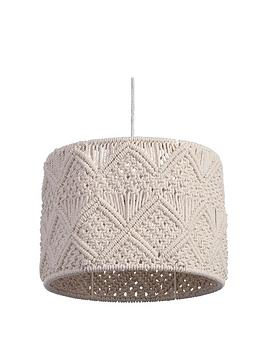 Very Plano MacramÉ Easy-Fit Light Shade Picture