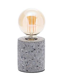 Very Fontana Terrazzo Base Table Lamp Picture