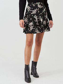 Oasis Oasis Dandelion Flippy Skirt - Black Picture