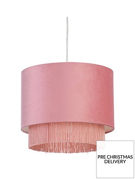fremont-tiered-fringe-easy-fit-pendant-lightshade-pink