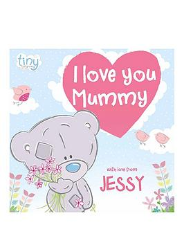Very Personalised Tatty Teddy I Love You Mummy Book - Softback Picture