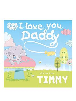 Very Personalised Tatty Teddy I Love You Daddy Book - Softback Picture