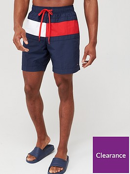 tommy-hilfiger-longer-length-swimshort-blue
