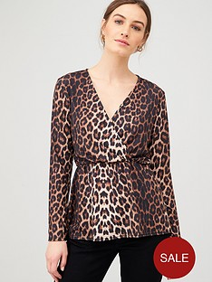 v-by-very-long-sleeve-wrap-top-animal-print