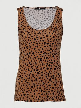 V by Very V By Very Printed Scoop Vest - Animal Picture