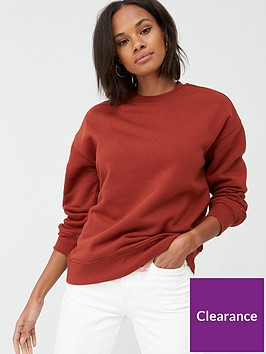 v-by-very-the-essential-oversized-basic-sweat-rust