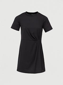 V by Very V By Very Ruched Tunic - Black Picture