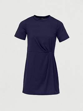 v-by-very-ruched-tunic-navy