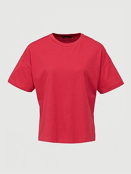 V by Very V By Very The Boxy Tee - Red Picture