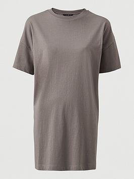 V by Very V By Very The Boxy Tunic - Slate Grey Picture