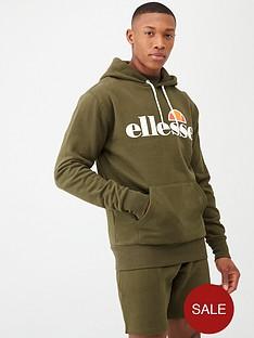 ellesse-gottero-overhead-hoodie-khaki