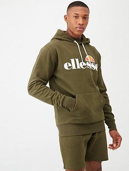 Ellesse Ellesse Gottero Overhead Hoodie - Khaki Picture