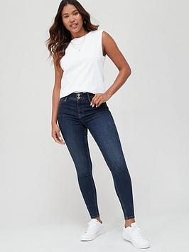 V by Very V By Very Shaping Skinny Jean - Dark Wash Picture