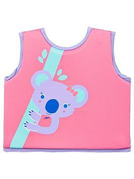 Speedo Speedo Toddler Girl Koala Printed Float Vest - Pink/Purple Picture