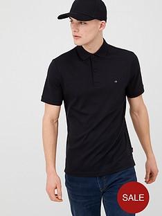 calvin-klein-jeans-soft-interlock-polo-shirt-black
