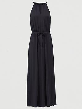 V by Very V By Very Halter Keyhole Maxi Dress - Black Picture