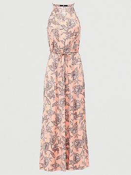 V by Very V By Very Halter Keyhole Maxi Dress - Paisley Print Picture