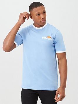 Ellesse Ellesse Agrigento Ringer T-Shirt - Light Blue Picture