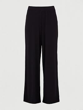 V by Very V By Very Co Ord Wide Leg Trouser - Black Picture
