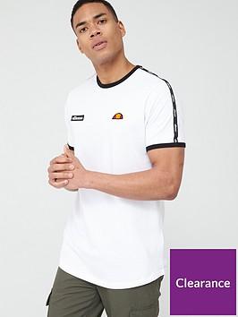 ellesse-fedora-taped-t-shirt-white