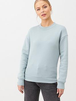 V by Very V By Very The Essential Oversized Basic Sweat - Aqua Picture