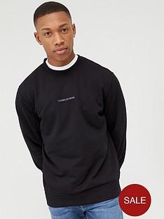 calvin-klein-jeans-instit-chest-logo-sweatshirt-black