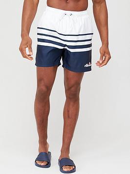 Ellesse Ellesse Alfonso Swim Shorts - White/Navy Picture