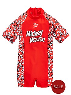 speedo-toddler-mickey-mouse-all-in-one-red