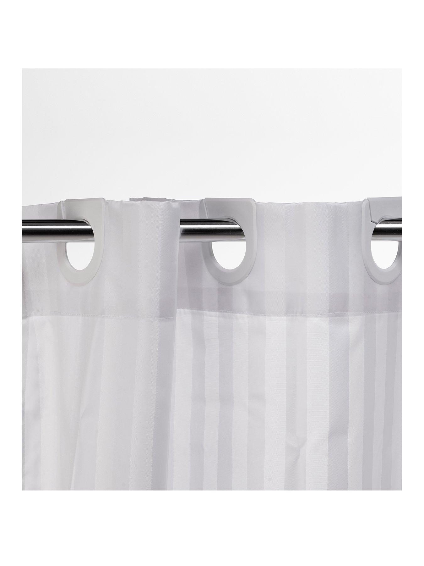 Everyday Living Shower Curtain Rings 12 Metal Rings NIP  UP-6