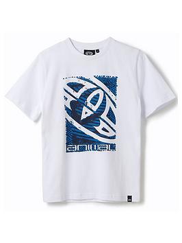 Animal Animal Boys Tabo Short Sleeve T-Shirt - White Picture