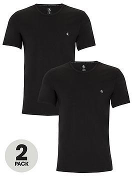 Calvin Klein Calvin Klein 2 Pack Shortsleeve T-Shirt - Black Picture