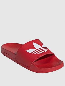adidas Originals Adidas Originals Adilette Lite - Red Picture
