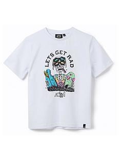 animal-boys-get-rad-graphic-short-sleeve-t-shirt-white