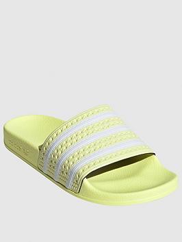 adidas-originals-adilette-yellow