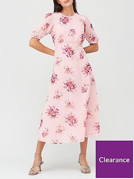 v-by-very-puff-sleeve-dobbynbspmidi-dress-floral