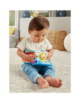 Fisher-Price Fisher-Price Laugh &Amp; Learn Click And Learn Instant Camera Picture