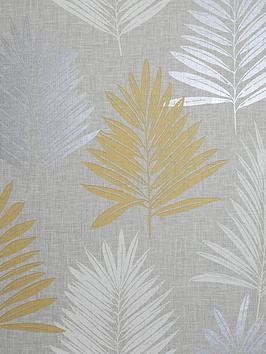 ARTHOUSE Arthouse Linen Palm Wallpaper Picture