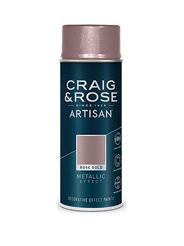 Craig & Rose Craig & Rose Artisan Rose Gold Metallic Effect Spray Paint Picture