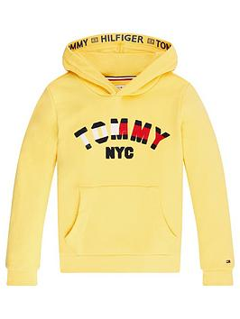 Tommy Hilfiger Tommy Hilfiger Unisex Logo Hoodie - Yellow Picture