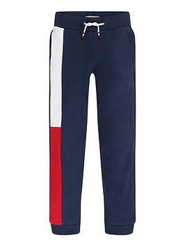 Tommy Hilfiger Tommy Hilfiger Boys Flag Joggers - Navy Picture