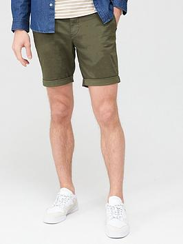 Selected Homme Selected Homme Paris Straight Fit Shorts - Green Picture