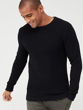 Selected Homme Selected Homme Victor Crew Neck Jumper Picture