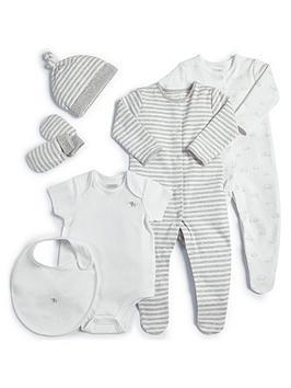 Mamas & Papas   Baby Unisex 6 Piece Layette - White