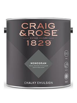 Craig & Rose Craig & Rose 1829 Monogram Chalky Emulsion Paint - Sample Pot  ... Picture